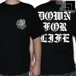 KING NINE ´Down For Life´ - Black T-Shirt